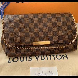 Louis Vuitton Favorite MM Damier Ebene Brand New